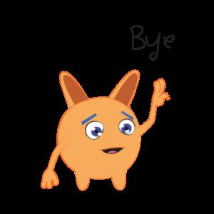 Bunny emoji animated messages sticker-4