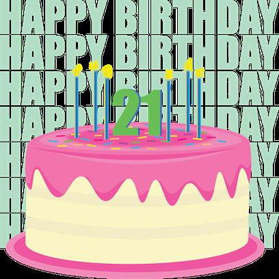 A Happy Birthday messages sticker-7