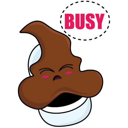 Savage Poop messages sticker-2