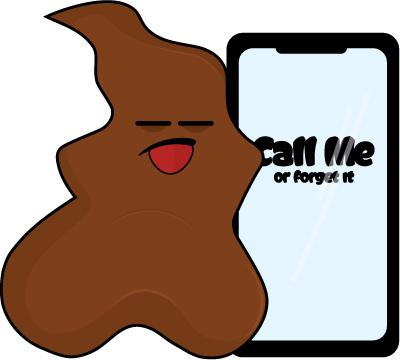 Savage Poop messages sticker-9
