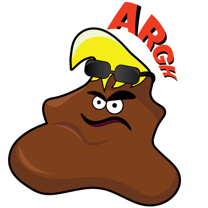 Savage Poop messages sticker-0