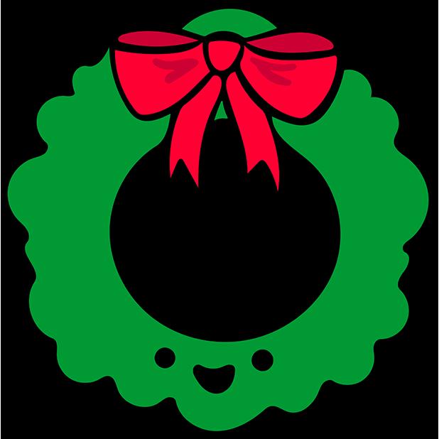 Merry Kawaii messages sticker-3
