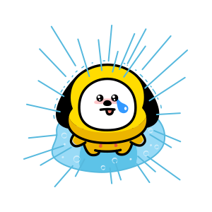 BT21's Everyday Cuteness messages sticker-11