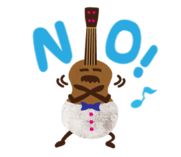 Life of Mr. Ukulele Sticker messages sticker-10