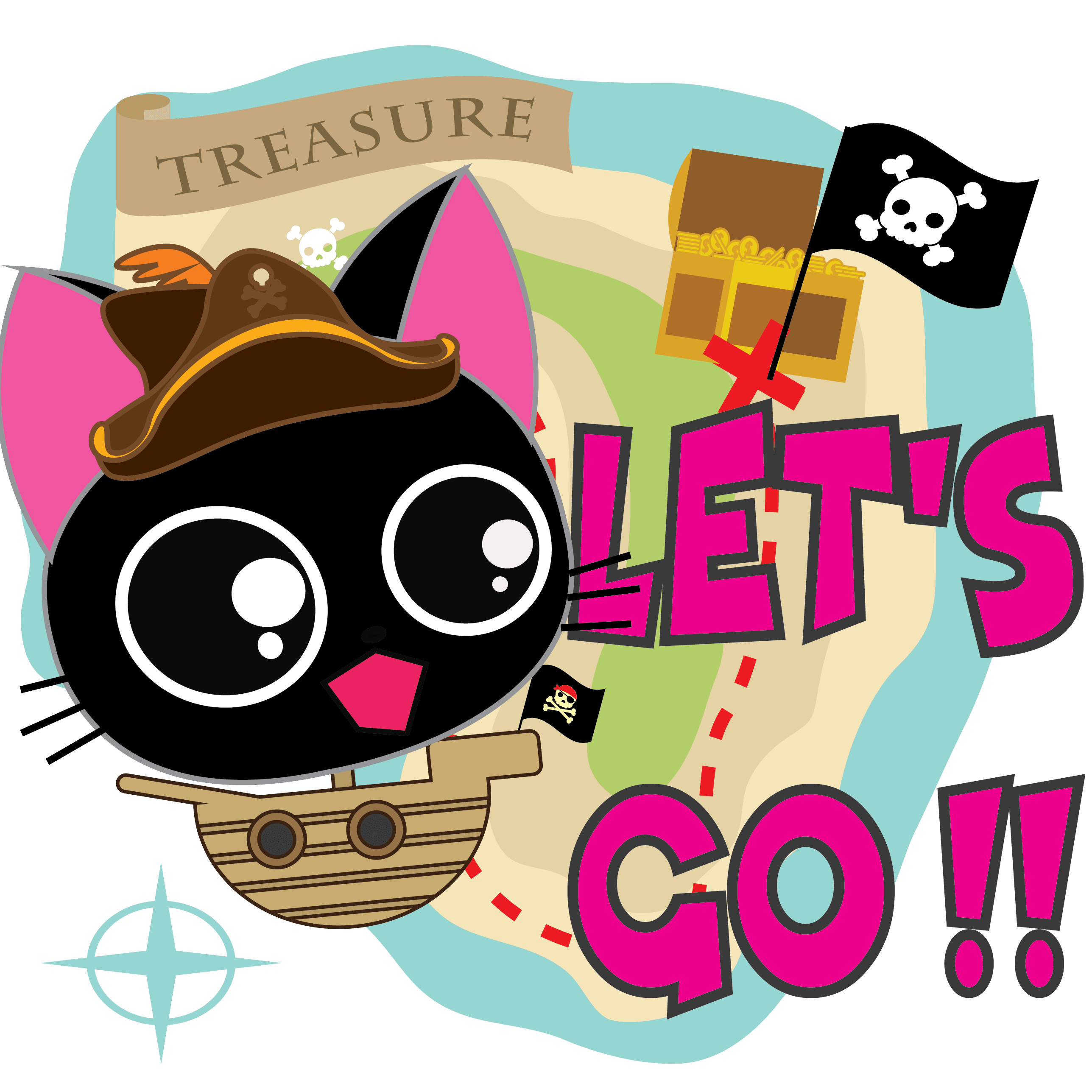 Pirate Kitties Stickers messages sticker-8