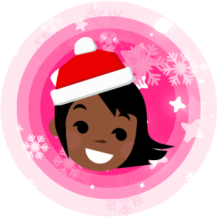 Cinderly's Holiday Sparkle messages sticker-6