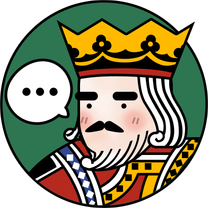 World of Solitaire: Card game messages sticker-11