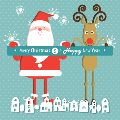 Animated Christmas Stickers - messages sticker-1