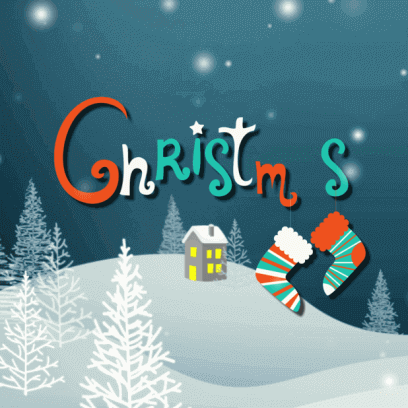 Animated Christmas Stickers - messages sticker-8