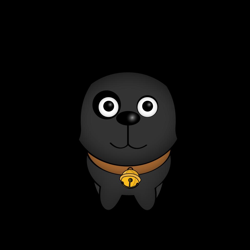 Cutest Black Dog messages sticker-8