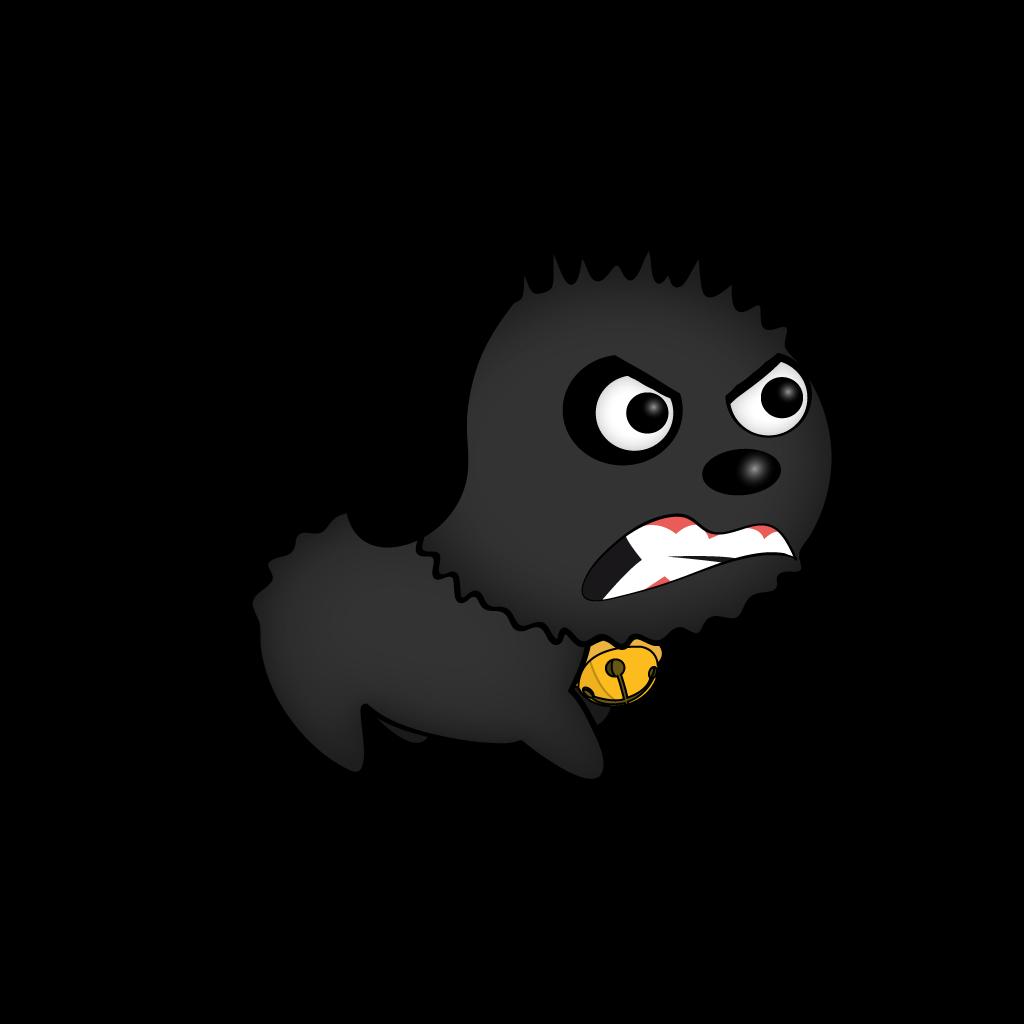 Cutest Black Dog messages sticker-7