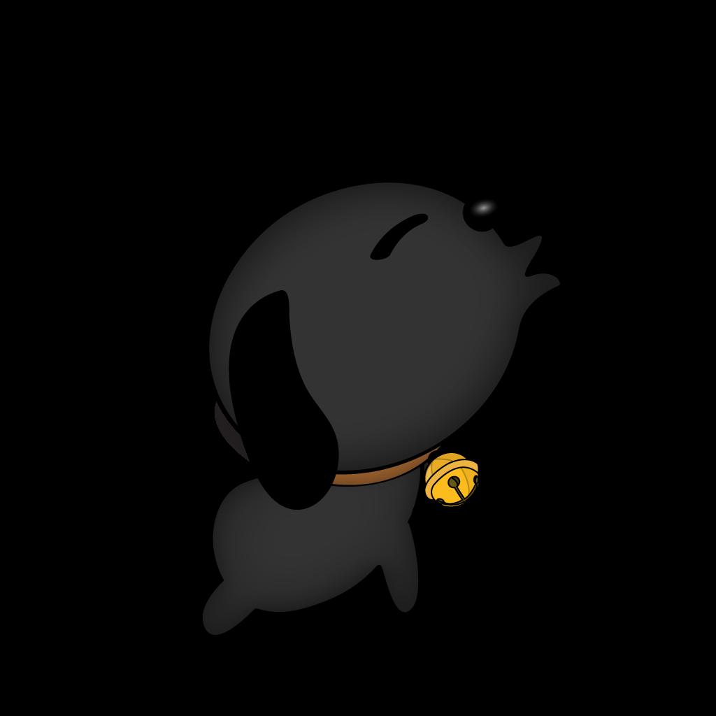 Cutest Black Dog messages sticker-9
