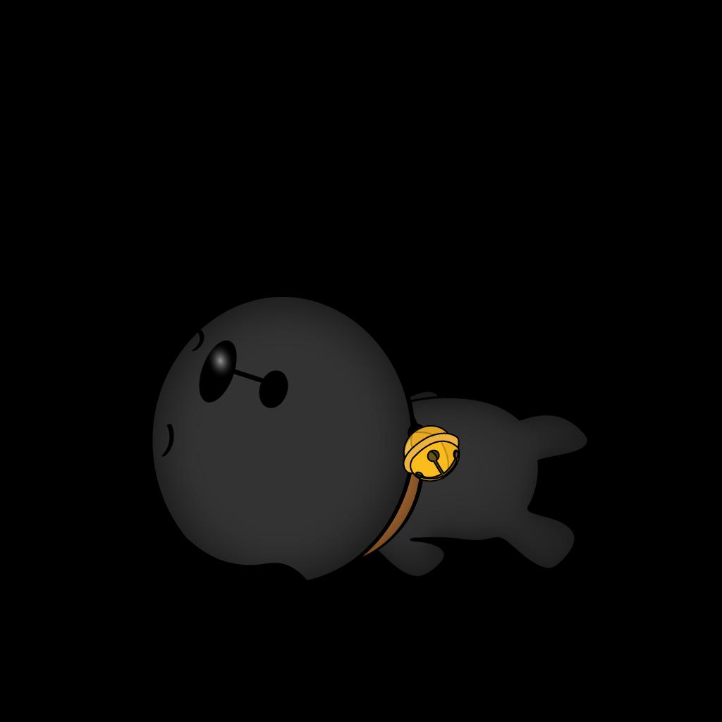 Cutest Black Dog messages sticker-3