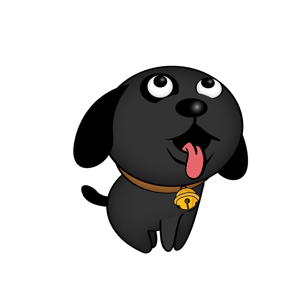 Cutest Black Dog messages sticker-6
