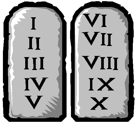 Teen Commandments Sticker Pack messages sticker-6