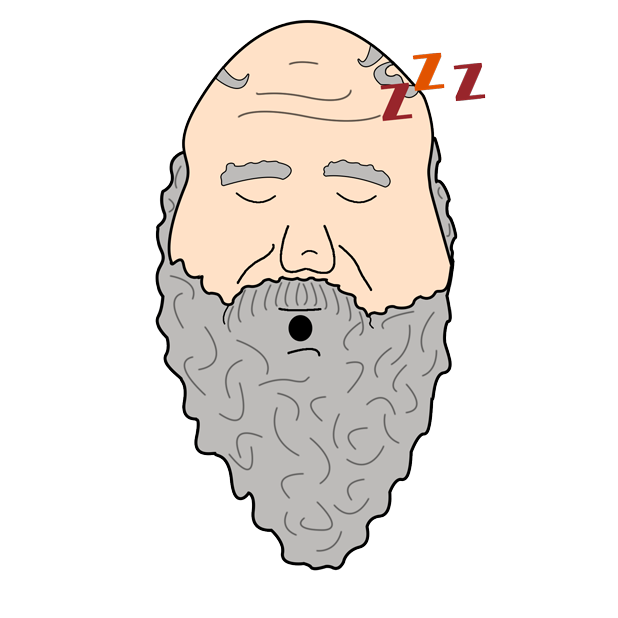 Philosophy Stickers: Socrates messages sticker-11