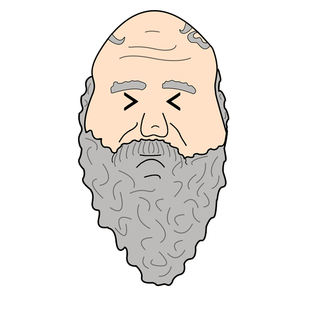 Philosophy Stickers: Socrates messages sticker-9