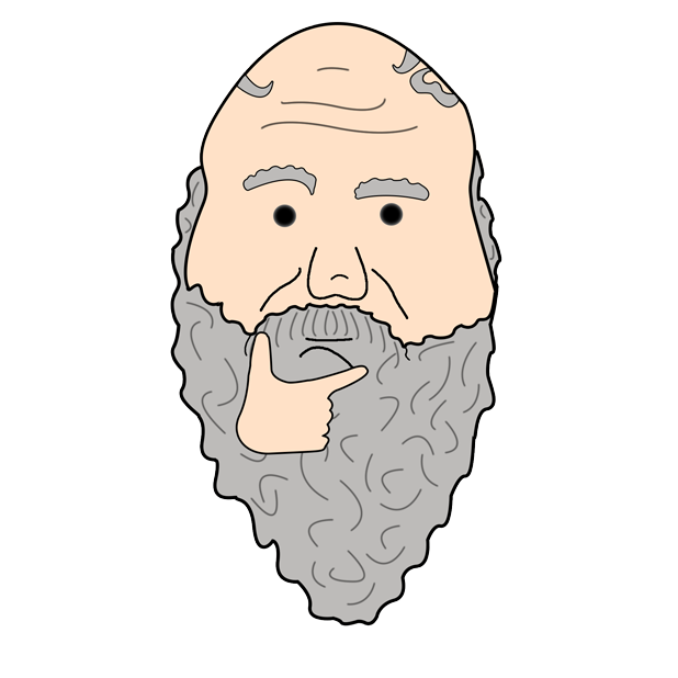 Philosophy Stickers: Socrates messages sticker-5