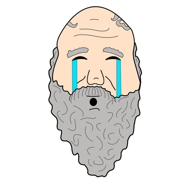 Philosophy Stickers: Socrates messages sticker-7