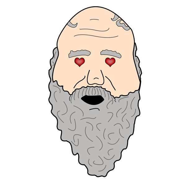 Philosophy Stickers: Socrates messages sticker-6