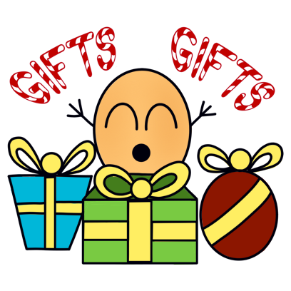 Paquitos Stickers: Christmas messages sticker-9
