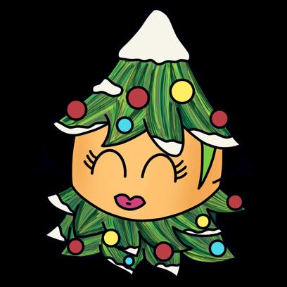 Paquitos Stickers: Christmas messages sticker-3