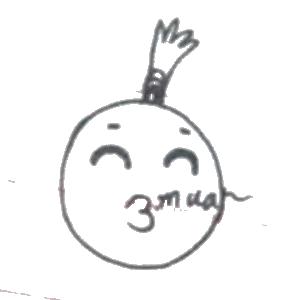 菠萝头表情包 messages sticker-2