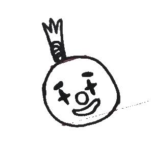 菠萝头表情包 messages sticker-8
