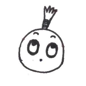 菠萝头表情包 messages sticker-6
