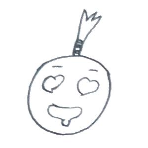 菠萝头表情包 messages sticker-7
