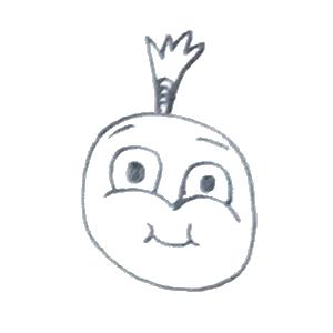 菠萝头表情包 messages sticker-5