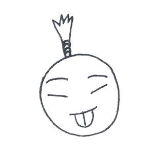 菠萝头表情包 messages sticker-9