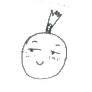 菠萝头表情包 messages sticker-4
