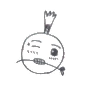 菠萝头表情包 messages sticker-1