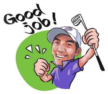 Pan the Man Golf messages sticker-0