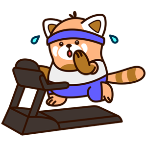 Cute Red Panda Stickers messages sticker-6