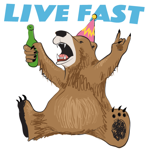 Party Bear Stickers Lite messages sticker-0