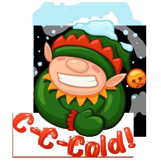 Christmas Spirit Sticker Pack messages sticker-3