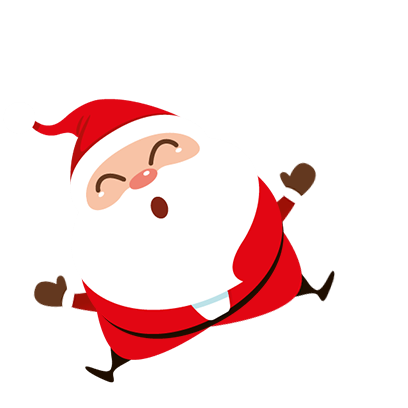 Animated Xmas Santa Stickers messages sticker-11