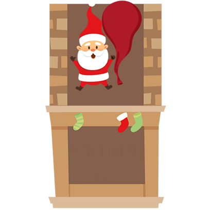 Animated Xmas Santa Stickers messages sticker-1
