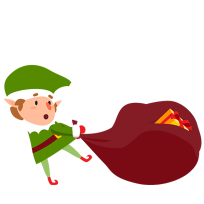 Animated Xmas Santa Stickers messages sticker-3