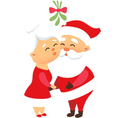 Animated Xmas Santa Stickers messages sticker-10