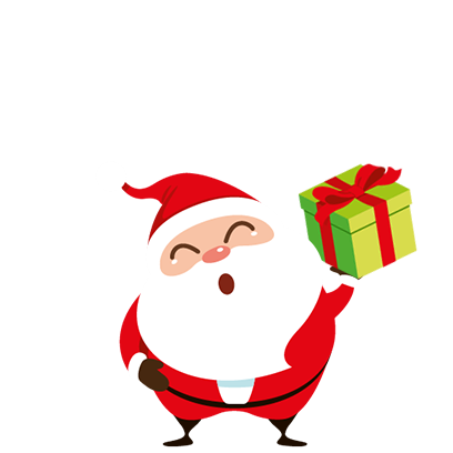 Animated Xmas Santa Stickers messages sticker-7
