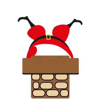 Animated Xmas Santa Stickers messages sticker-0