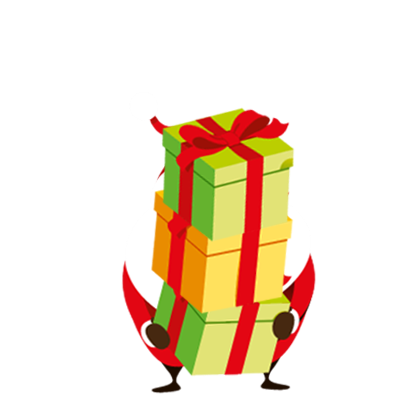 Animated Xmas Santa Stickers messages sticker-8