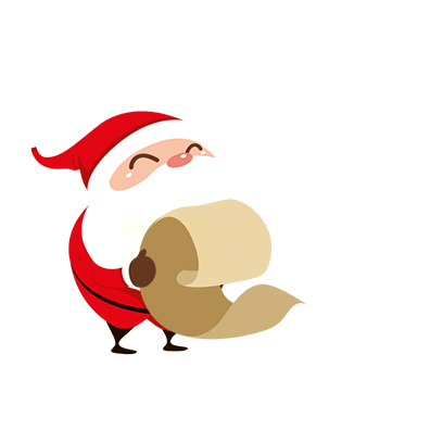 Animated Xmas Santa Stickers messages sticker-4