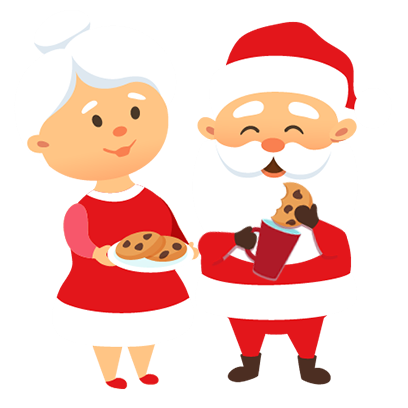Animated Xmas Santa Stickers messages sticker-9
