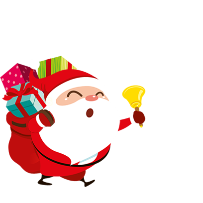 Animated Xmas Santa Stickers messages sticker-5