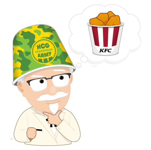 KFC Buckethead Stickers messages sticker-6