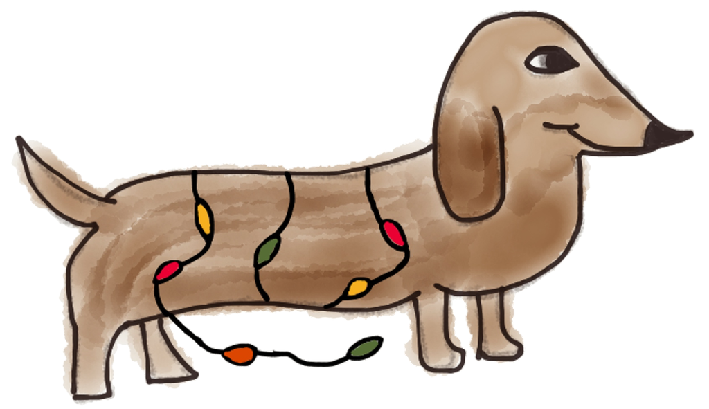 Adorable Dachshund Stickers messages sticker-1